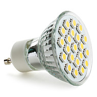 GU10 3.5 W 21 SMD 5050 220 LM Warm White MR16 Spot Lights AC 220-240 V