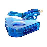 kettős PSX USB vezérlő adapter átalakító pc ps2