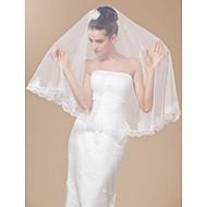 vidunderlige 1 lag fingerspids længde bryllup slør