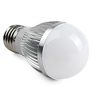 3W E26/E27 LED gömbbúrás izzók A50 15 SMD 5630 260 lm Meleg fehér V