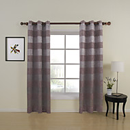 Country Two Panels Floral  Botanical Lavender Living Room Polyester Panel Curtains Drapes