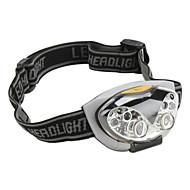 תאורה פנס LED / פנסי ראש LED Lumens 4 מצב - AAA רכיבה על אופניים פלסטיק