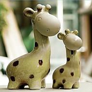 Kuchendeckel Liebe Giraffe Kuchendeckel Mutter - Set aus 2