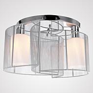 Max 40W Montage de Flujo ,  Moderno / Contemporáneo Cromo Característica for Mini Estilo MetalDormitorio / Habitación de estudio/Oficina