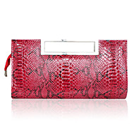 Women leatherette Casual Evening Bag White / Beige / Red / Black