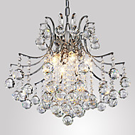 40 Závěsná světla ,  moderní - současný design Galvanicky potažený vlastnost for Křišťál Kov Obývací pokoj Ložnice