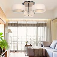 60 Op plafond bevestigd ,  Hedendaags Chroom Kenmerk for Ministijl Metaal Woonkamer Slaapkamer Studeerkamer/Kantoor