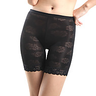 Viscose Medium Waist Mid Thigh Seamless Special Occasion Pant Sexy Lingerie Shaper