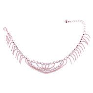 Bracelet Bracelet de cheville Alliage Cristal Femme