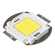 DIY 100W 8000-9000lm 6000-6500K lumina naturala module LED integrat de alb (33-35v)