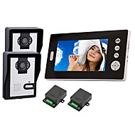 "2,4 GHz sans fil 7 ""LCD Monitor Home Security Video Door Phone Intercom et système"