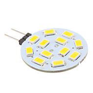 2W G4 LED Bi-pin Lights 12 SMD 5630 220 lm Warm White DC 12 V
