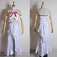cosplay dräkt inspirerad av svärd konst på nätet asuna Yuuki