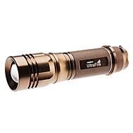 LED svítilny / Svítilny do ruky / Svorky a zavěšení LED 1000 Lumenů 5 Režim Cree XM-L T6 18650Nastavitelné zaostřování / Dobíjecí /