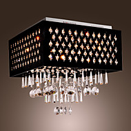 SL® Crystal Chandelier with 9 lights (Chrome Finish)