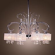 Lusteri ,  Modern/Comtemporary Chrome svojstvo for Crystal Metal Living Room Bedroom