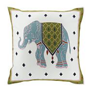 vyšívané slon bavlna dekorační polštář