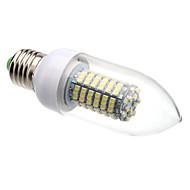 8W E26/E27 LED Candle Lights C35 138 SMD 3528 620 lm Warm White / Cool White AC 220-240 V