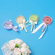 Lollipop Jabón favor de la boda - Set de 4 (más colores)