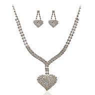Women's Cubic Zirconia / Alloy Jewelry Set Cubic Zirconia