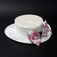 Women's Satin/Lace/Alloy Headpiece - Wedding/Special Occasion Hats