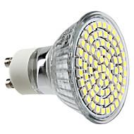 GU10 3.5 W 80 SMD 3528 300 LM Natural White MR16 Spot Lights AC 220-240 V