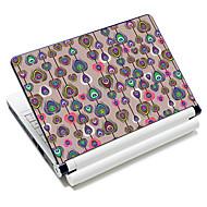 """""""Pfauenfeder"""" Pattern Laptop Notebook Cover schützende Haut Aufkleber für 10 """"/ 15"""" Laptop 18366"""
