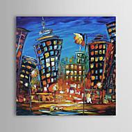 Handgemalte Landschaft / Abstrakte Landschaft Ein Panel Leinwand Hang-Ölgemälde For Haus Dekoration