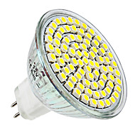 4W E14 / GU10 / GU5.3/ E26/E27 LED Spotlight MR16 80 SMD 3528 300-350 lm Warm White / Natural White DC 12 / AC 220-240 V