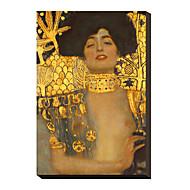 Judith I., 1901 por Gustav Klimt famoso lienzo envuelto para galerías
