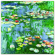 Waterlelies (Nympheas), c.1916 Claude Monet Beroemde Kunstdruk