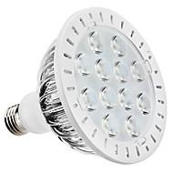 Spot Blanc Naturel PAR E26/E27 12 W 12 LED Haute Puissance 1080 LM 6000K K AC 85-265 V