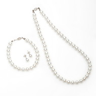 Women's Imitation Pearl/Alloy Jewelry Set Imitation Pearl