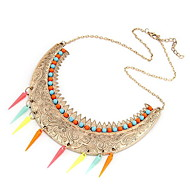 Elegant Alloy with Imitation Pearl Necklaces
