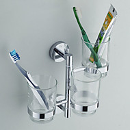 Bathroom Hardware Bronze Cup Toothbrush Cup Holder