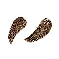 Vintage Antique Copper Wings Pattern Brooch