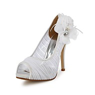 Chaussures de mariage - Ivoire / Blanc - Mariage - Bout Ouvert - Talons - Homme