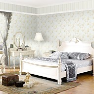 Country Spring Flower PVC Wall Paper