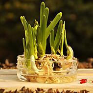 Table maîtresses vase de verre simples deocrations de table de pièce maîtresse