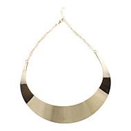 Női Rövid nyakláncok Ötvözet Divat minimalista stílusú Aranyozott Ékszerek Parti Napi 1db