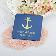 Персонализированные свадьбы Anchor Подставки-Набор из 4 (другие цвета)