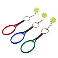 Τένις Set Style Keychain (Random Color)