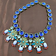 Women's Alloy Necklace Birthday/Gift/Party/Daily/Special Occasion/Causal Crystal/Rhinestone