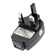 Universal UK mur d'USB Power Adapter Noir