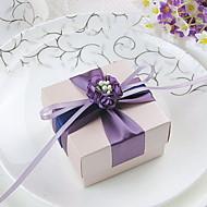Süße Favor Box mit Blumen und Band (Set von 30)