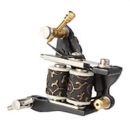 Steel Casting Dual Spoler 10 Wraps Tattoo Machine Gun for Liner