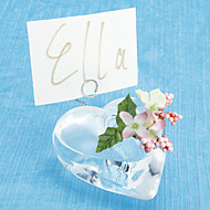 Place Cards and Holders Heart-shaped Vase Placecard Holder