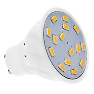 4W GU10 LED Spotlight 15 SMD 5730 300-330 lm Warm White AC 220-240 V