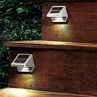 Solar Powered LED Gendarmerie lumière Pathway chemin d'escalier mur lampe de jardin (cis-57163)