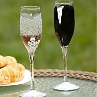 """""""Morsian ja sulhanen"""" Suunnittelu Champagne Toasting huilut"""